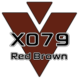 M15 - X079 Red Brown 751 - 12in