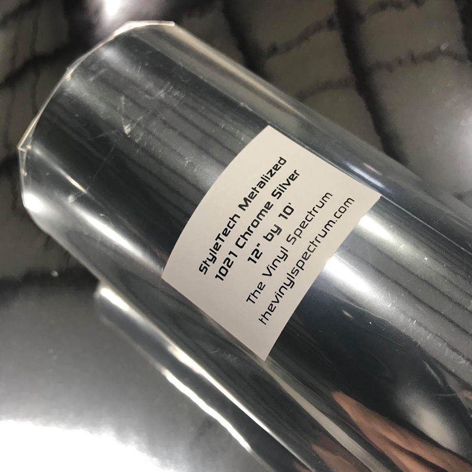Mz21 Silver Chrome Metalized Roll
