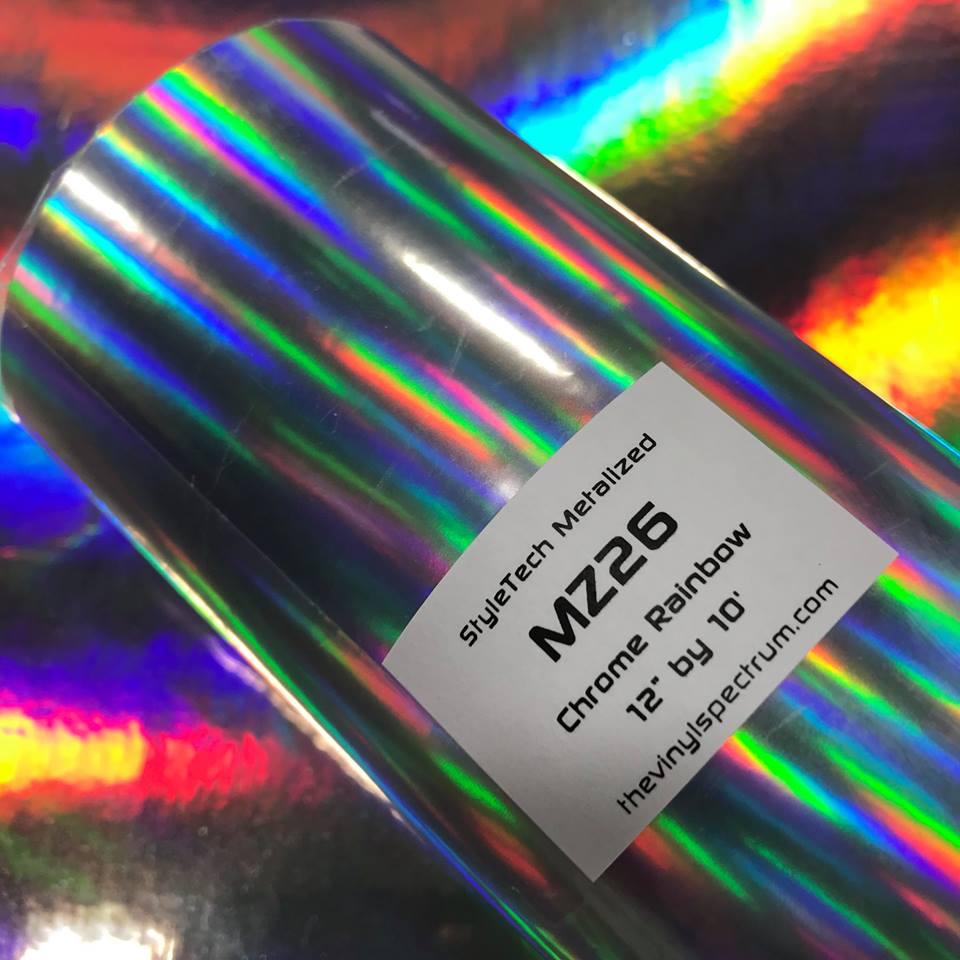 MZ26 Rainbow Chrome Metalized Roll