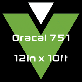 Oracal 751 - 12in x 10ft
