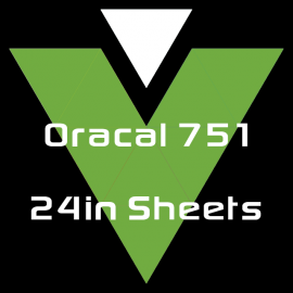 Oracal 751 - 24in Sheets