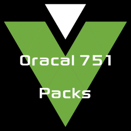 Oracal 751 - Packs