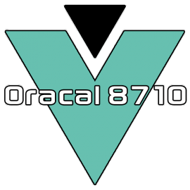 Oracal® 8710 (Dusted Vinyl)
