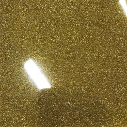 GL12 Gold Glitter Sheet
