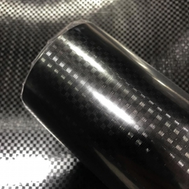 MZ14 Black Carbon Fiber Metalized Roll