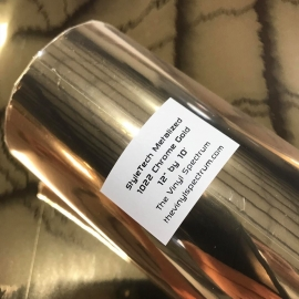 MZ22 Gold Chrome Metalized Roll