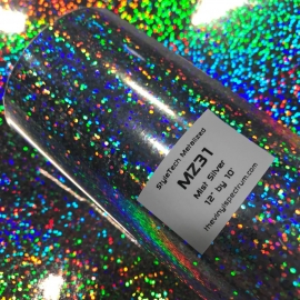 MZ31 Silver Mist Metalized Roll