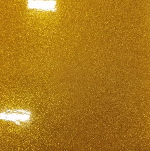 TG40 Gold Trans Glitter Sheet