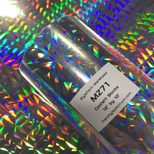 MZ71 Confetti Blocks Metalized Roll