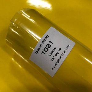 T021 Yellow 8300 Roll