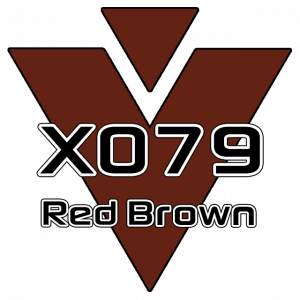 X079 Red Brown 751 Sheet