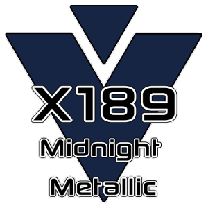 X189 Midnight Metallic 951 Sheet