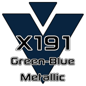 X191 Green-Blue Metallic 951 Sheet
