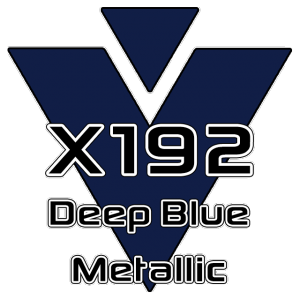 X192 Deep Blue Metallic 951 Sheet