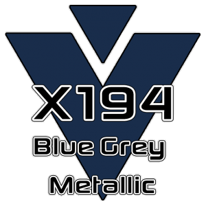X194 Blue Grey Metallic 951 Sheet