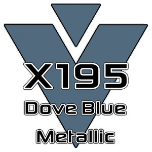 X195 Dove Blue Metallic 951 Sheet