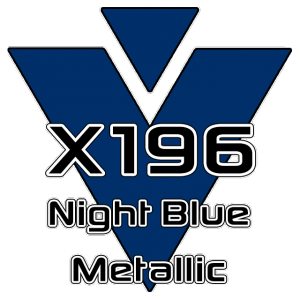 X196 Night Blue Metallic 951 Sheet