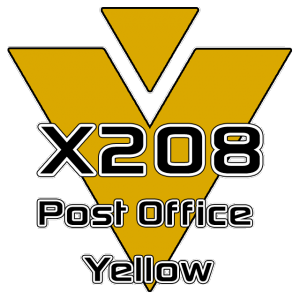 X208 Post Office Yellow 951 Sheet