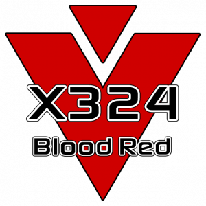 X324 Blood Red 751 Sheet