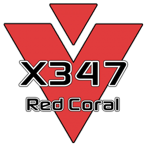 X347 Red Coral 951 Sheet