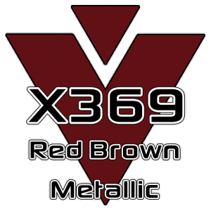 X369 Red Brown Metallic 951 Sheet