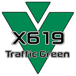 X619 Traffic Green 951 Sheet