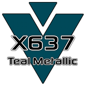 X637 Teal Metallic 951 Sheet