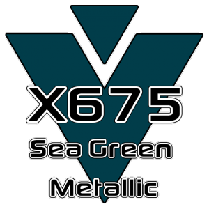 X675 Sea Green Metallic 951 Sheet