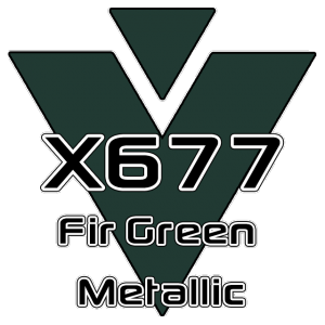 X677 Fir Green Metallic 951 Sheet