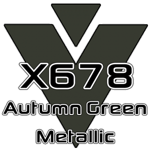 X678 Autumn Green Metallic 951 Sheet