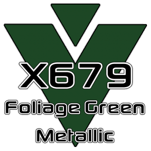 X679 Foliage Green Metallic 951 Sheet