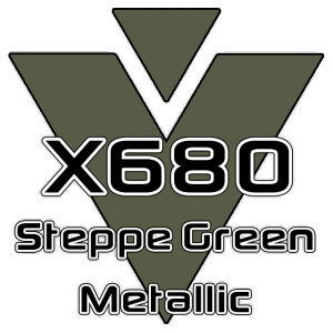 X680 Steppe Green Metallic 951 Sheet