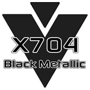 X704 Black Metallic 951 Sheet