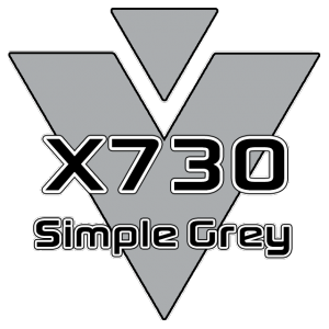 X730 Simple Grey 951 Sheet