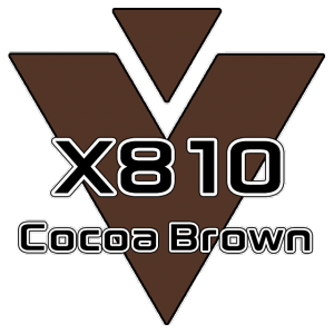 X810 Cocoa Brown 951 Sheet