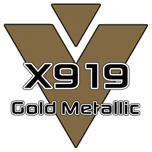 X919 Golden Metallic 951 Sheet