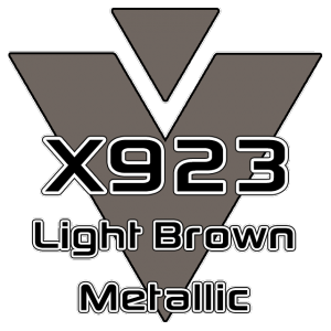 X923 Light Brown Metallic 951 Sheet