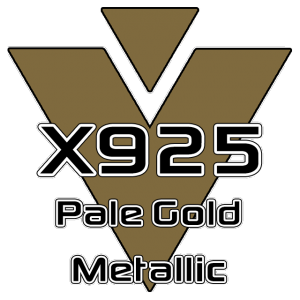X925 Pale Gold Metallic 951 Sheet
