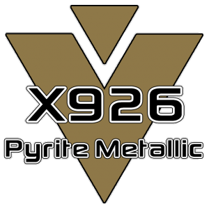 X926 Pyrite Metallic 951 Sheet