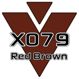 X079 Red Brown 751 Roll