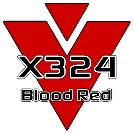 X324 Blood Red 751 Roll