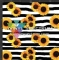 SUNSTR Sunflowers & Stripes Orajet Gloss Roll