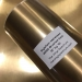 MZ02 Gold Brushed Chrome Metalized Roll